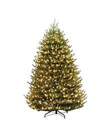 """6.5"""" Pre-Lit Canadian Balsam Fir Artificial Christmas Tree"""