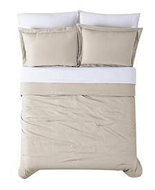 Antimicrobial  7 Piece Bed in a Bag, Queen