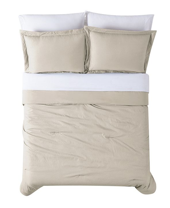 Truly Calm Antimicrobial  7 Piece Bed in a Bag, Queen