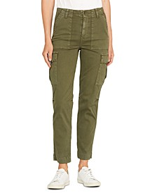 Classic High-Rise Cargo Jeans