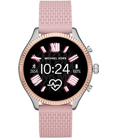 Women's Gen 5 Lexington Pink Silicone Smartwatch  44mm