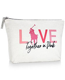 Receive a FREE Pink Pony Pouch with any $90 purchase from the Ralph Lauren Romance Pink Pony fragrance collection