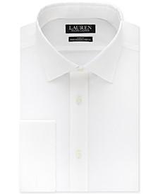 Men's Slim-Fit Non-Iron Ultraflex Performance Stretch French Cuff Dress Shirt
