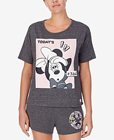Richard Leeds Minnie Today's Mood Lounge Tee