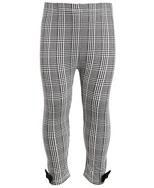 Toddler Girls Houndstooth Plaid Leggings, Created for Macy's