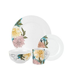 Home Floral Sketches 16 Piece Set