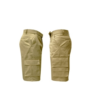Men's 7-Pocket Cargo Belt Shorts