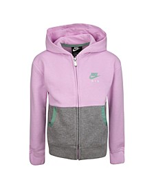 Little Girls Air French Terry Full-Zip Hoodie