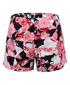Little Girls Dri-Fit Printed Tempo Shorts