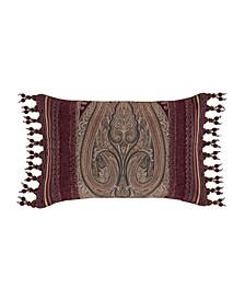 "Garnet Boudoir Decorative Pillow, 15"" x 23"""