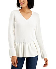 Peplum Sweater