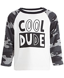 Toddler Boys Cool Dude Raglan, Created for Macy's