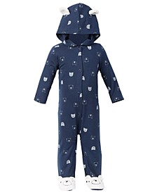 Baby Boys Polar Bear Coverall Set, Created for Macy's