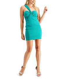 GUESS Candice One-Shoulder Mini Dress