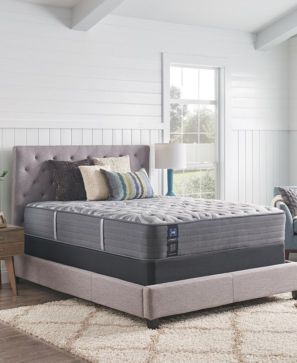 "Sealy Premium Posturepedic Opportune II 13"" Cushion Firm Mattress- Twin"