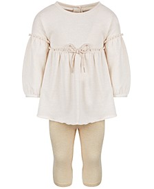 Baby Girls 2-Pc. Sparkle Tunic & Leggings Set, Created for Macy's