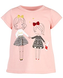 Baby Girls Sisters Cotton T-Shirt, Created for Macy's