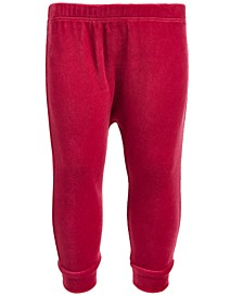Baby Boys & Girls Velour Jogger Pants, Created for Macy's