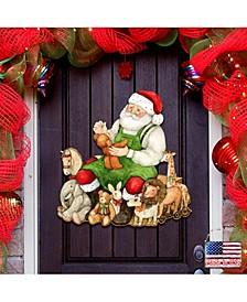 by Susan Winget Merry Christmas Santa Wall and Door Decor