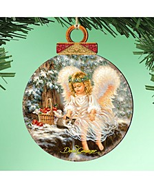 by Dona Gelsinger Winter-Companions Ornament, Set of 2