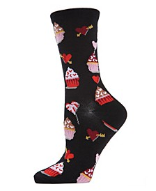 Cupcakes Women's Novelty Socks