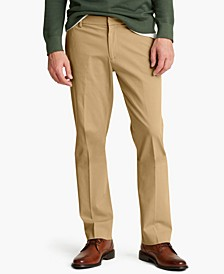 Men's Straight-Fit City Tech Trousers