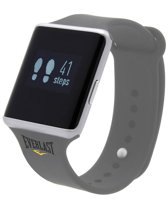 Everlast TR10 Smart Fitness Tracker Watch with Blood Pressure Heart Rate Monitor