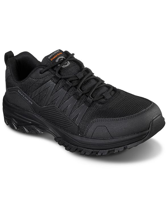 Skechers Men's Relaxed Fit: Fannter Slip-Resistant Wide Width Work Sneakers from Finish Line