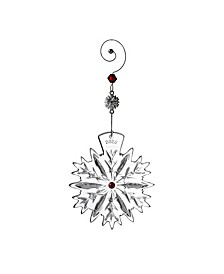 Snowflake Wishes Love Ornament 2020