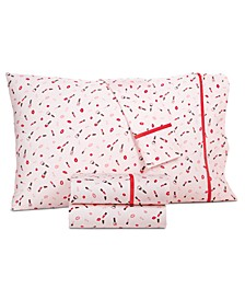 Novelty Print King 4-Pc. Sheet Set, 250 Thread Count 100% Cotton, Created for Macy's