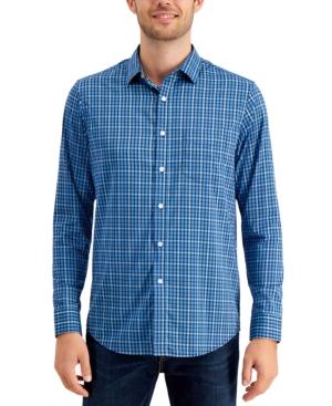 Men's Performance Plaid Shirt with Pocket