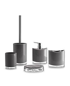 Optic 5 Piece Bathroom Accessory Set