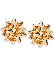 Gold-Tone Bow Stud Earrings, Created for Macy's