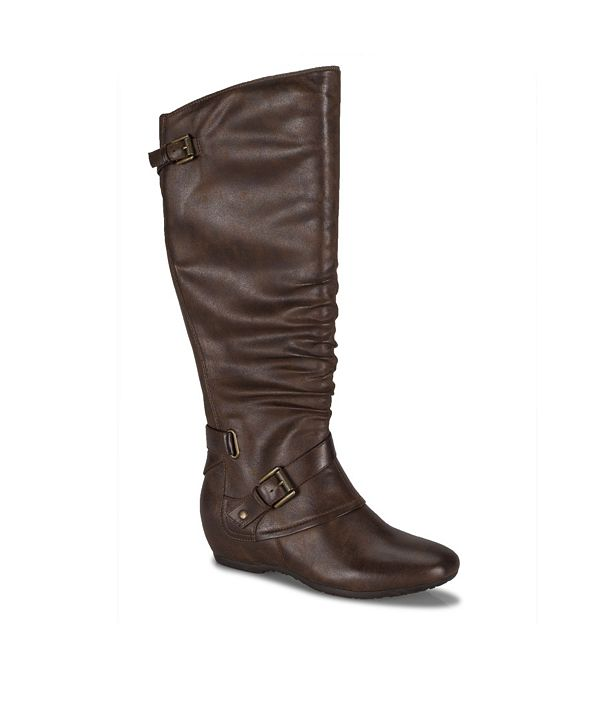 Baretraps Pabla Wide Calf Tall Shaft Women's Wedge Boot