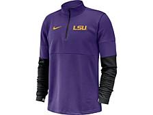 LSU Tigers Men's Therma Half Zip Pullover