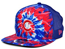 Chicago Cubs Tie Dye Mesh Back 9FIFTY Cap