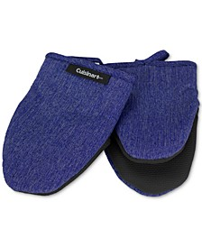 Chambray Mini Oven Mitts, Set of 2
