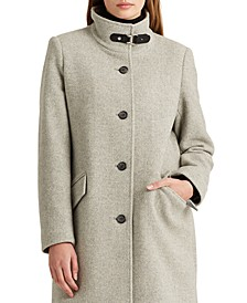 Wool-Blend Coat, Created For Macy's