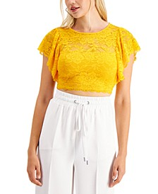 Ania Lace Crop Top