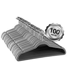 100-Pc. Velvet Hanger Set