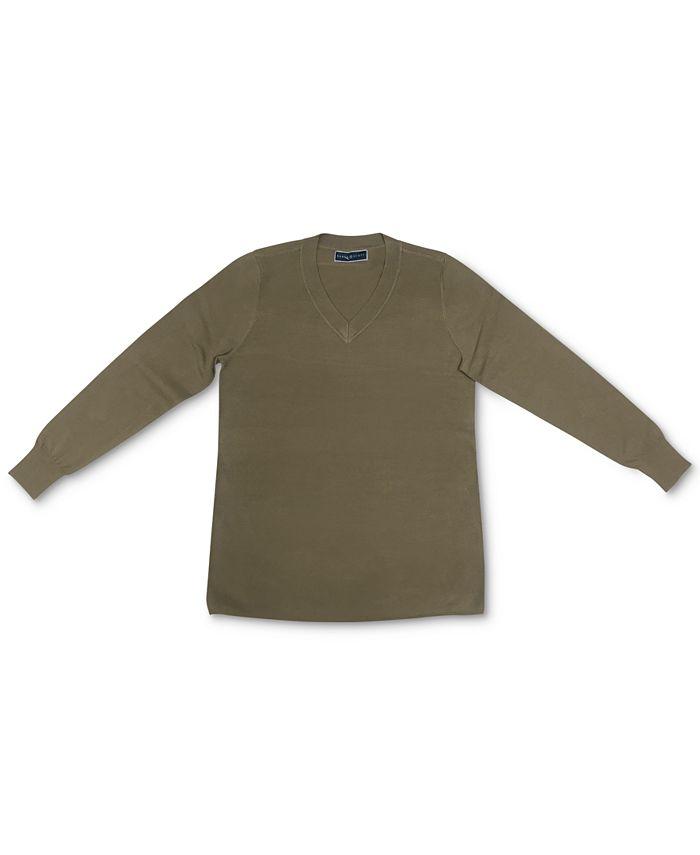 Karen Scott - V-Neck Sweater