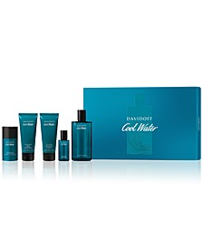 Men's 5-Pc. Cool Water Eau de Toilette Gift Set