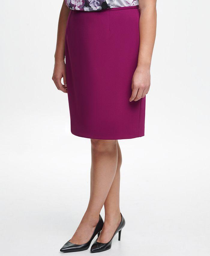 Calvin Klein - Plus Size Pencil Skirt