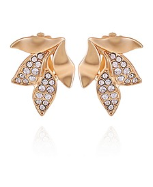 Women's Fashionable Florals Clip on Earring