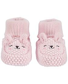 Baby Girl  Bunny Baby Booties