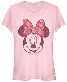 Women's Disney Mickey Classic Love Rose Short Sleeve T-shirt