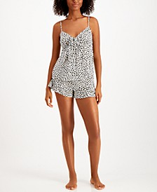 Printed Cami & Shorts Pajama Set, Created for Macy's