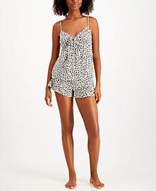 Printed Cami & Shorts Pajama Set, Created for Macy's