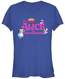 Women's Alice in Wonderland Short Sleeve T-shirt