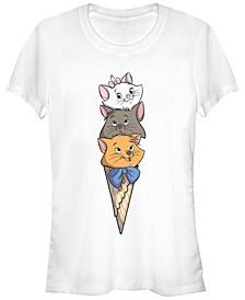 Women's The Aristocats Kitten Stack Short Sleeve T-shirt